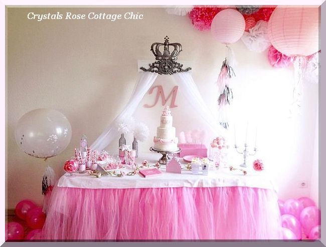 Pewter Fleur De Lis Bed Crown Canopy Teester · Party Wall DecorationsBed  Crown CanopyPink Princess ...