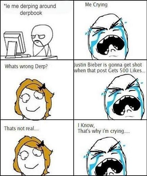 0d3e844e8e96949c919458ba3df16e5d justin bieber rage comics www meme lol com hilarious