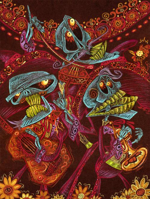 Imágenes para Día de Muertos, dibujos, ilustraciones y