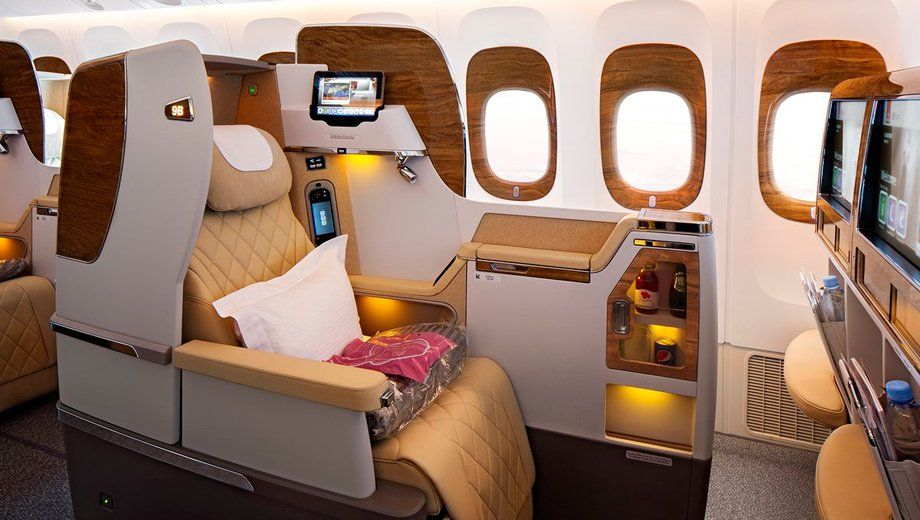 Emirates' Boeing 777 business class refresh keeps 232