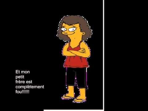 Bonjour Comment ça Va Youtube Avec Les Characteuses De Simpsons