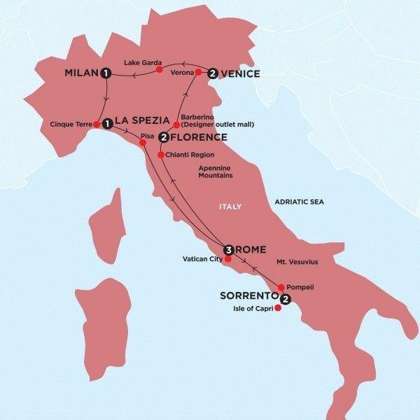 Simply Italy Winter Itinerary