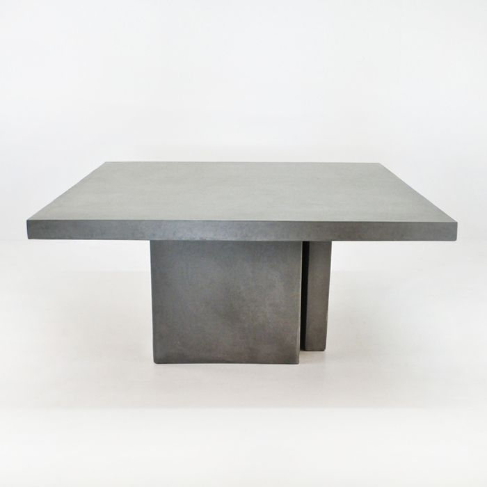 Raw Concrete Dining Table 63 Concrete Dining Table Concrete
