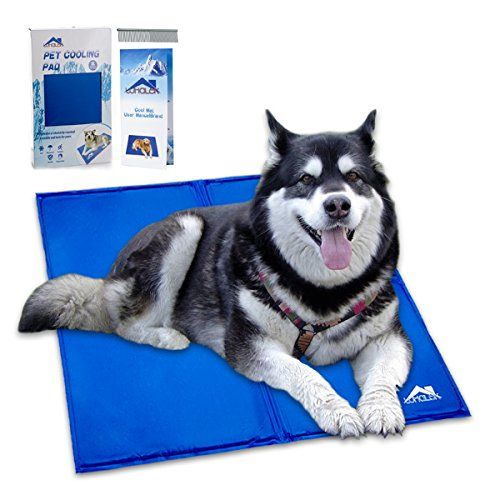 Whalek Pet Cooling Mat Pet Cooling Pad Dog Self Cooling Cool Dog Beds Pet Cooling Mat Pet Cooling Pad