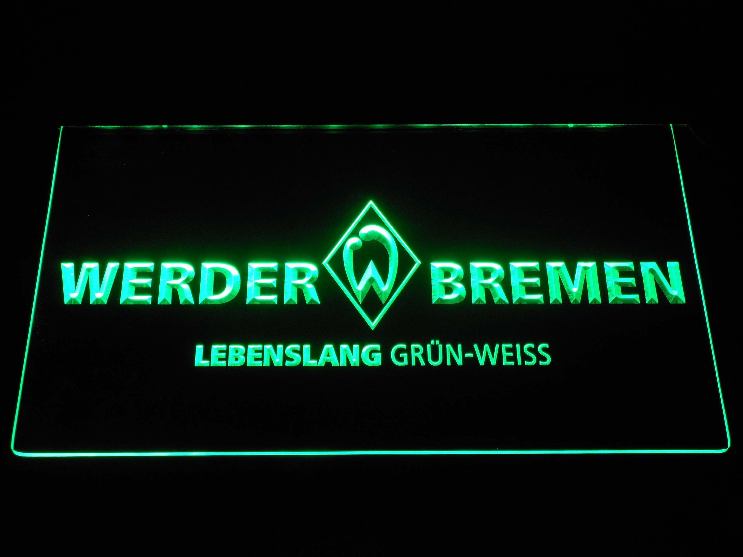 Sv Werder Bremen Led Neon Sign Led Neon Signs Cool Bedroom Accessories Neon Signs