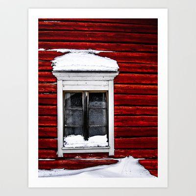 Window to the world Art Print by Stu Naranch - $18.00
