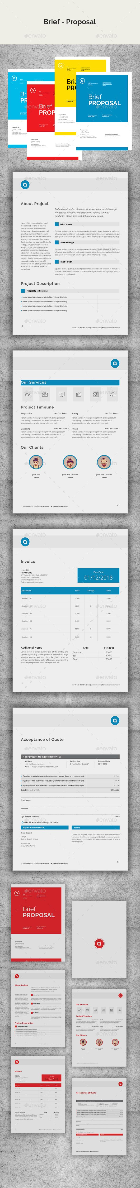Brief Proposal by azadcsstune Brief Proposal InDesign Features Used ...