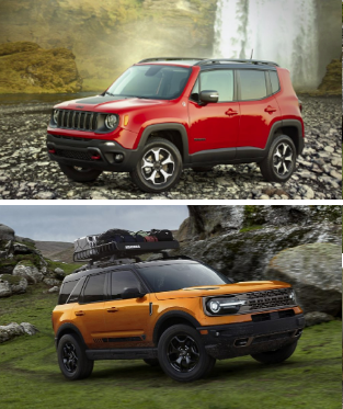 Did the Ford Bronco Sport Copy the Jeep Renegade? in 2020