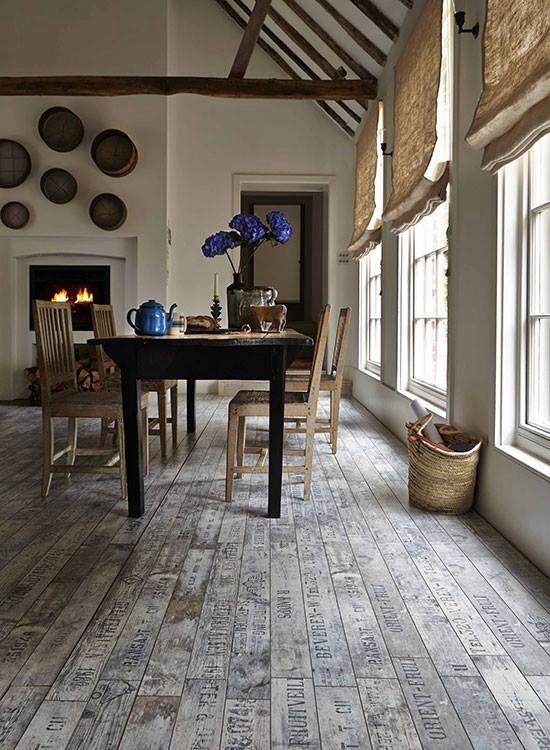 Love This Wine Crate Laminate Flooring So Cool Rustic Laminate Flooring Country House Interior Modern Flooring