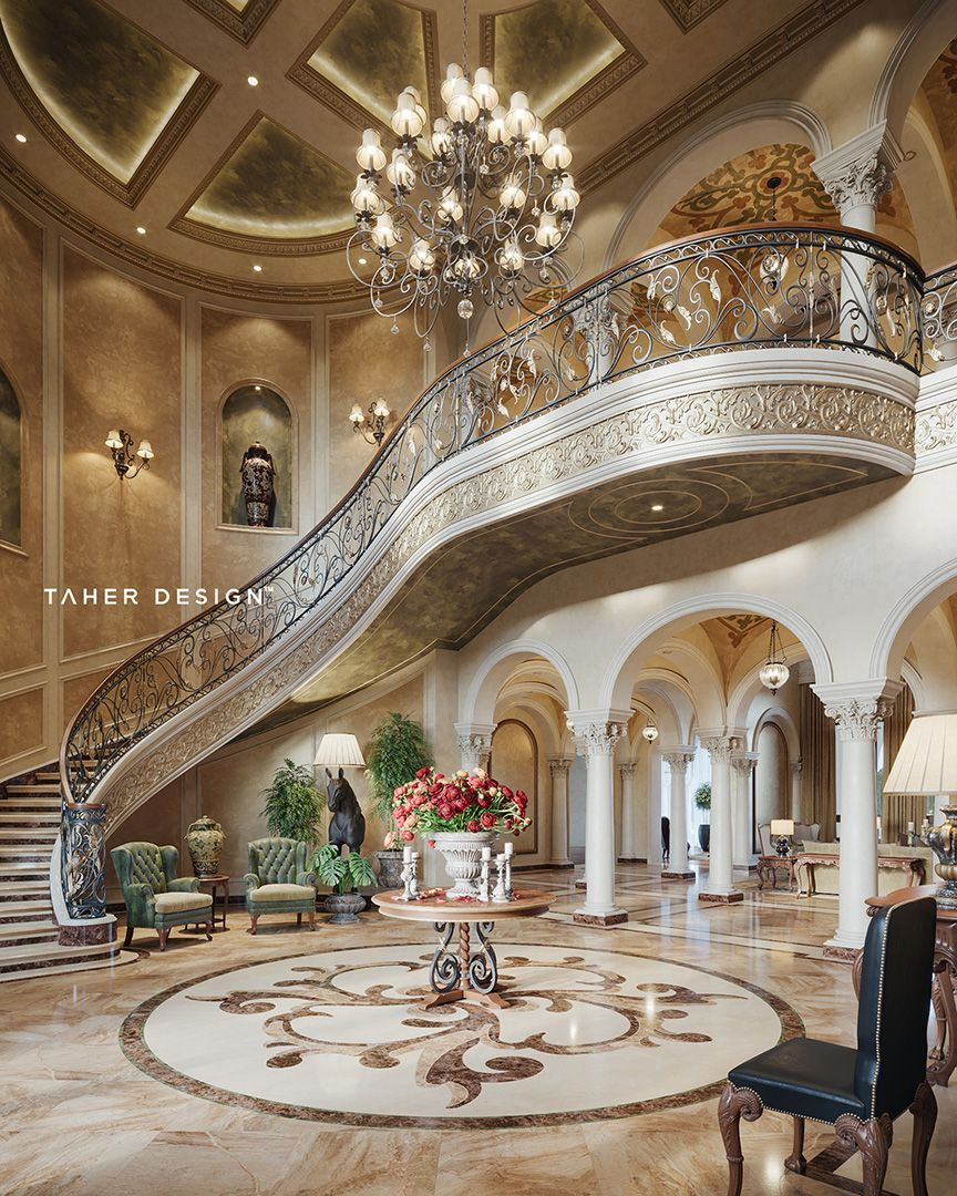 Luxury Residence By Dallas Design: Pin By Katheryn Mitchell On Foyers