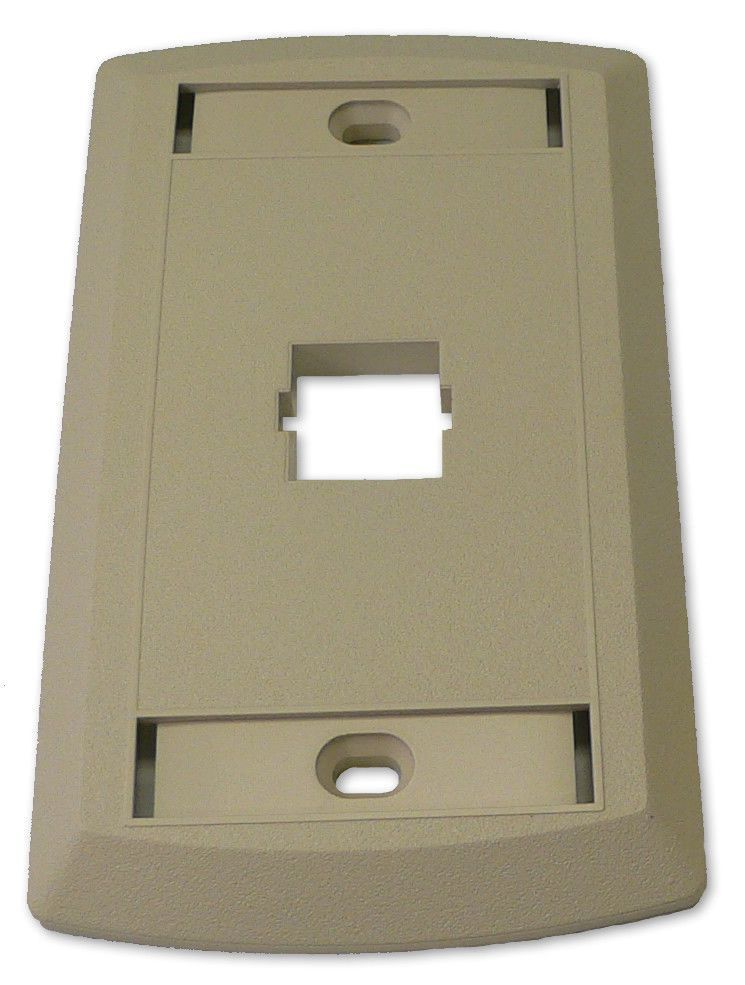 Suttle Single Outlet Face - Ivory - SE-STAR500S1-52 - by SUTTLE 1