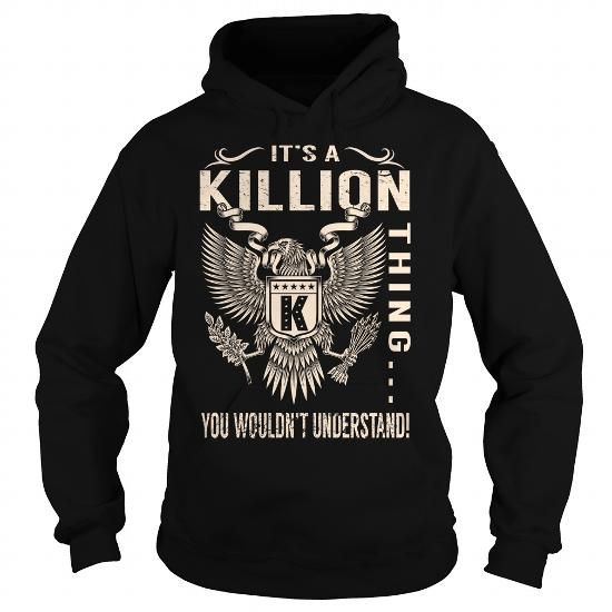 I Love Its a KILLION Thing You Wouldnt Understand - Last Name, Surname T-Shirt (Eagle) T shirts