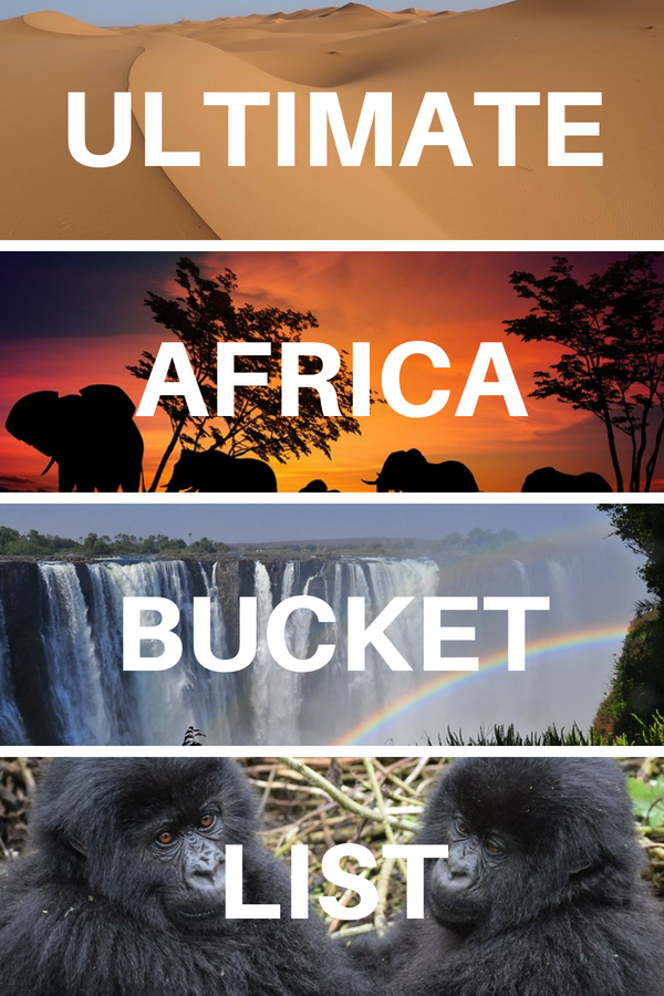 Africa Bucket List: 50+ EPIC Adventures, Things to Do & Places to Visit! #beautifulplaces