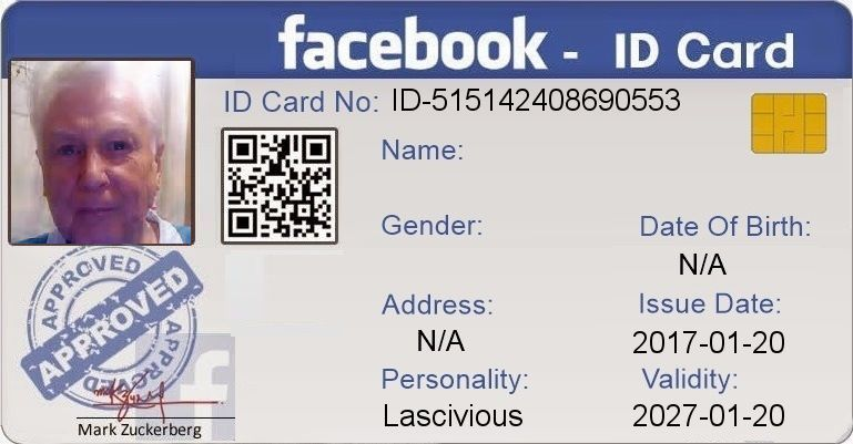 Check My Results Of Get Your Fb Id Card Facebook Fun App By