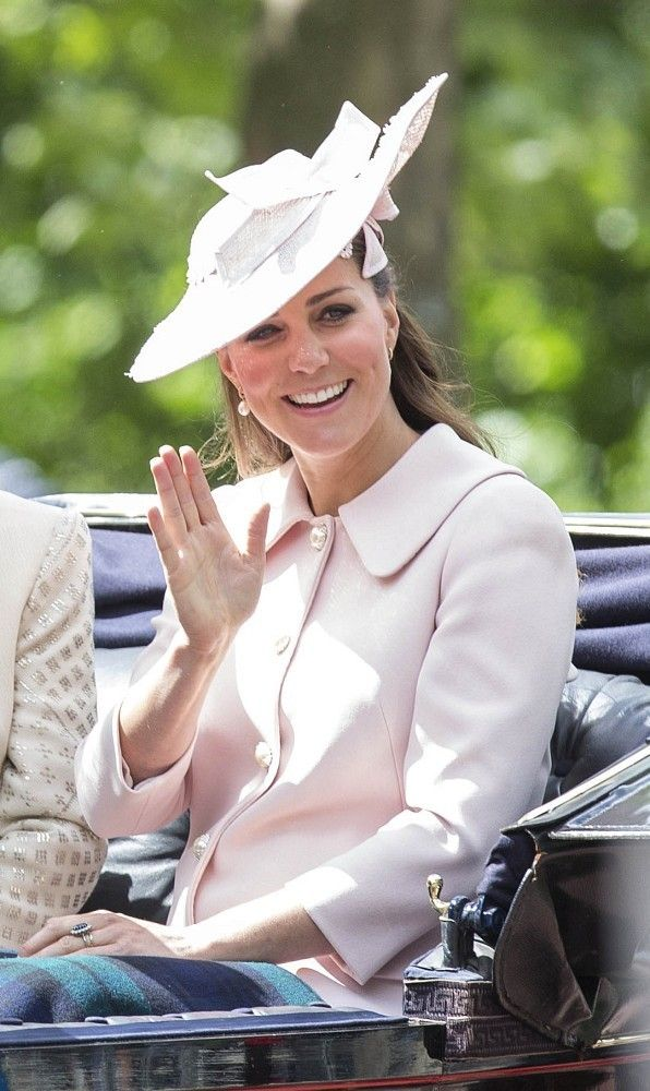 Kate Middleton - Trooping the Colour 2013