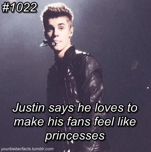 Justin Bieber Fact