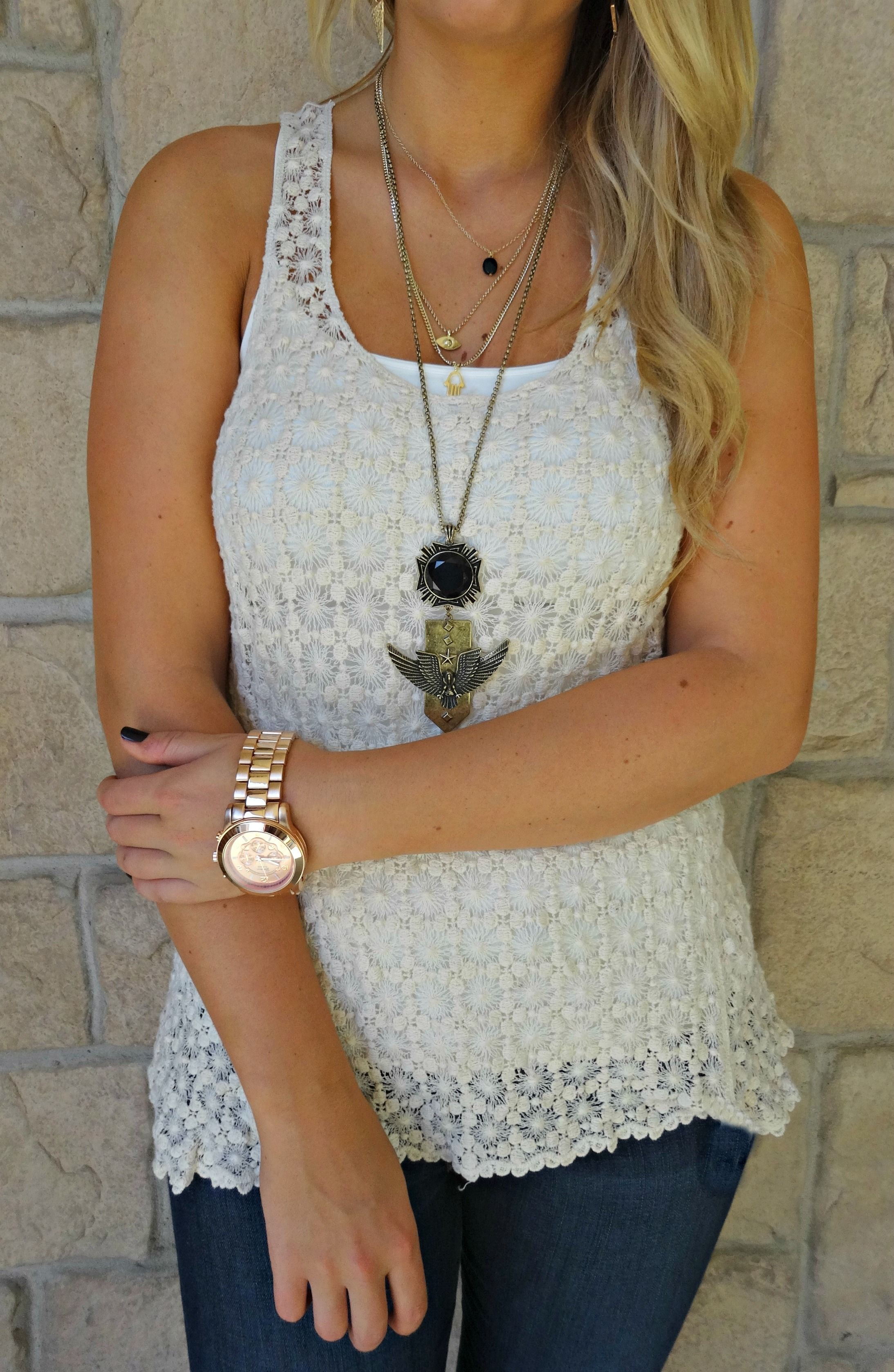Perfect Knitted Tank For Layering Available At Our Peoria Il Location Fashion Fashion Accessories My Style