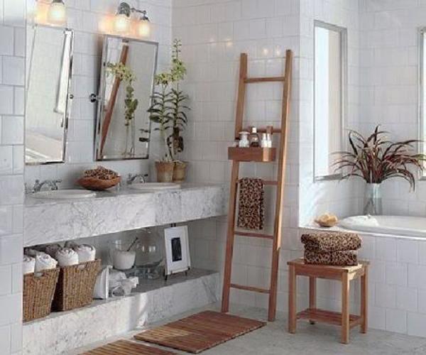 Modern Bathroom Design Trends in Storage Furniture 15 Space Saving