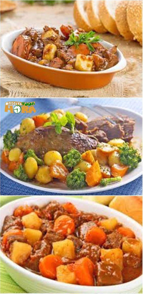 Carne De Panela Com Batata Receita Receitas Carne De Panela E