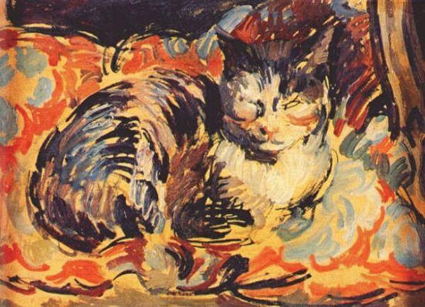 Duncan Grant - Cat