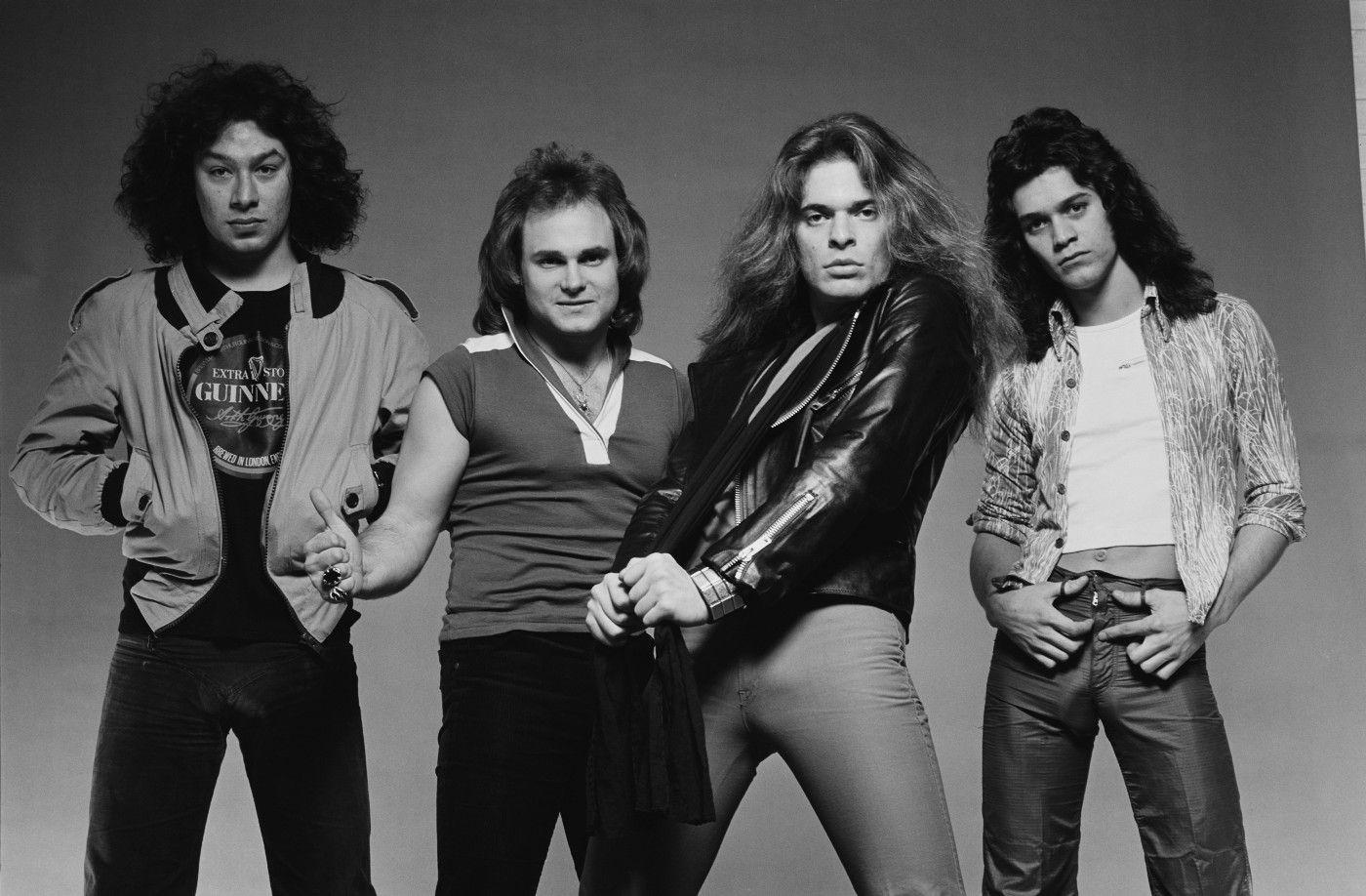 The Private Photo Shoot That Sparked A War Inside Van Halen Van Halen Eddie Van Halen David Lee Roth