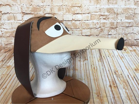 Slinky Costume Hat Dog Hat Puppy Costume Cap Running Toy Story