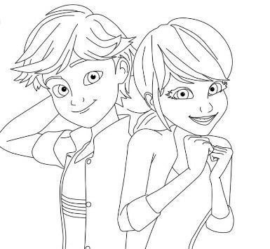 Ladybug Coloring Page By Lwoods On School Coloring Cartoon
