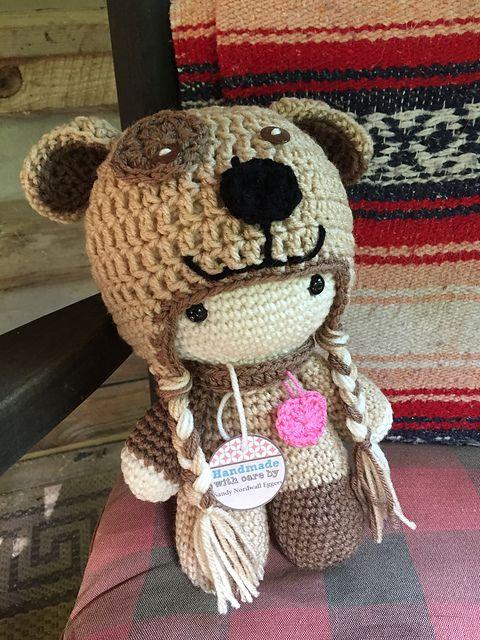 Crochet Pattern Large Doll : sandyeggers02s Puppy Love Big Head Doll Ravelry ...