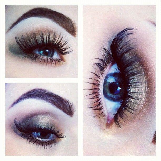 eye shadow,lashes