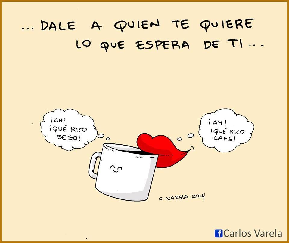 Besos y café - Carlos Varela