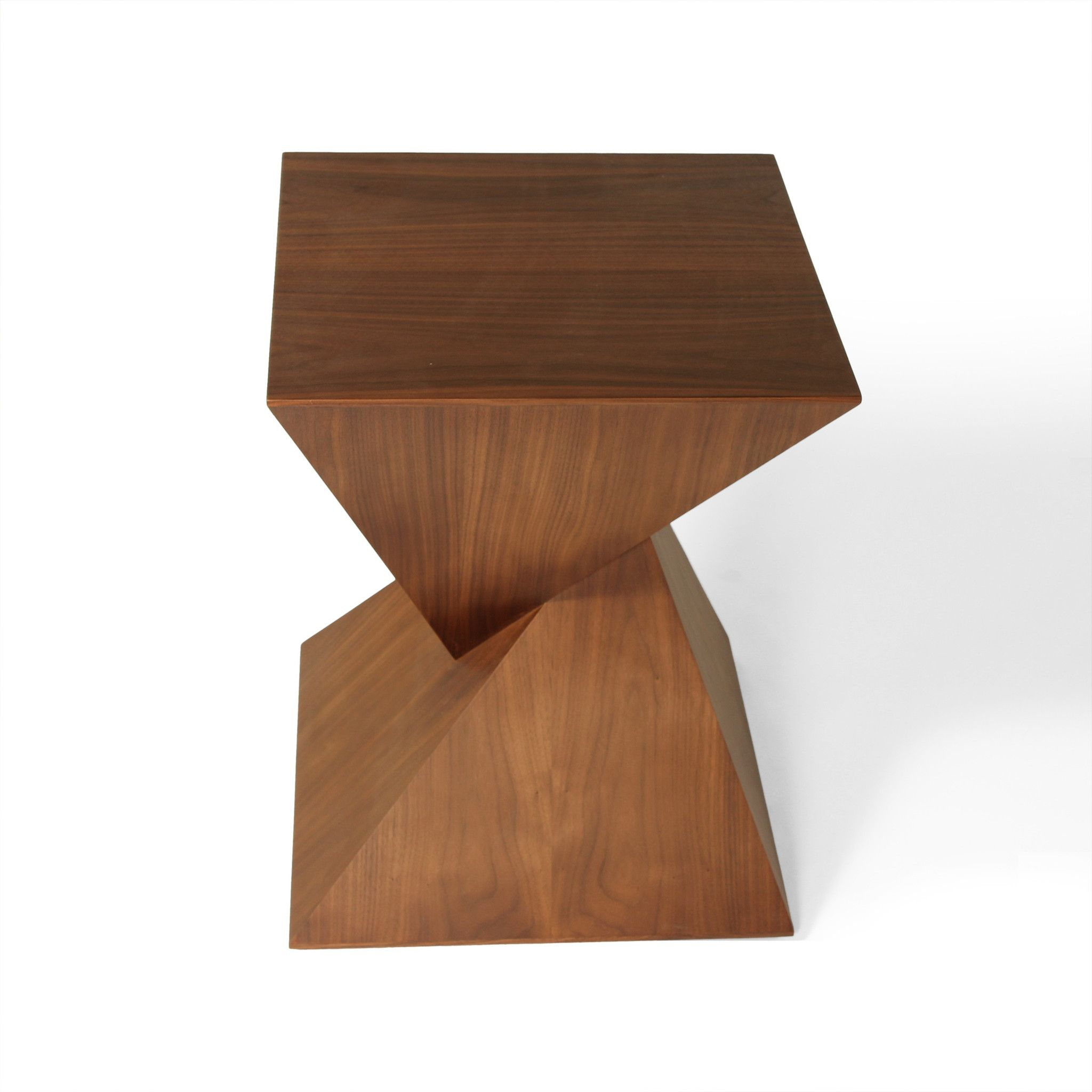 Pyramid Walnut Side Table Products I Love Pinterest