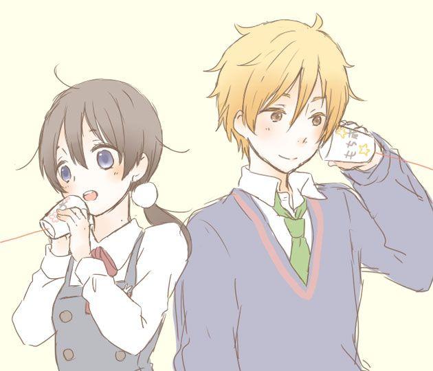 Tamako Market / Tamako Love Story | Kyoto Animation / Kitashirakawa Tamako and Ooji Mochizou / 「たまこラブストーリー」/「rうい」のイラスト [pixiv]