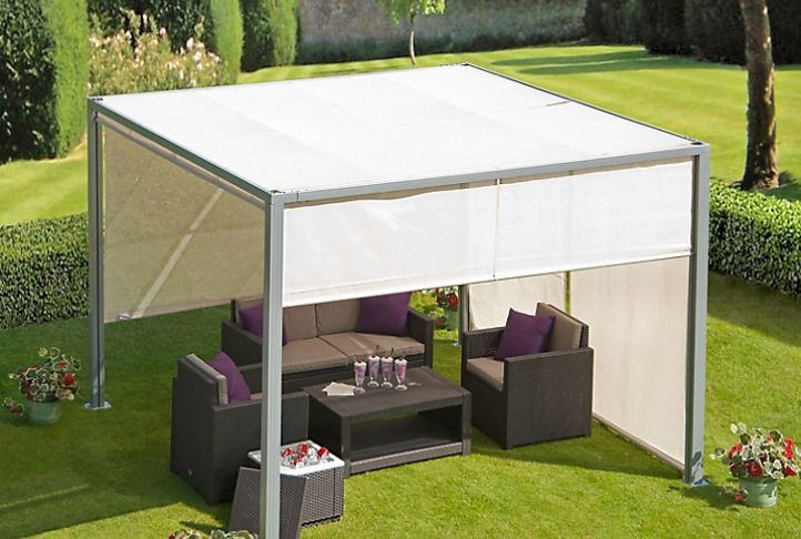 Suntime Four Seasons Steel Gazebo | Absolute Home | T&J OUTDOOR ...