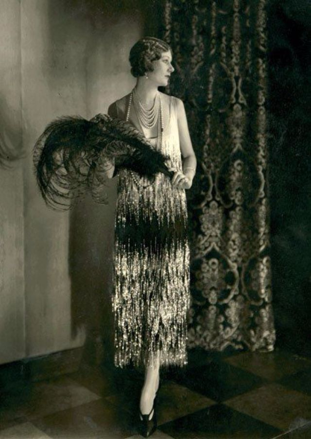 Vintage Everyday 1920s The Period Of The Female Fashion Outbreak Over 90 Years Ago Flappers