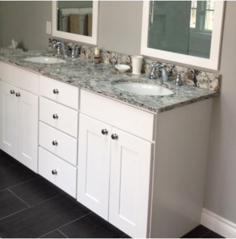 Kabinart Kitchen Cabinets: Kabinart White Shaker Vanity