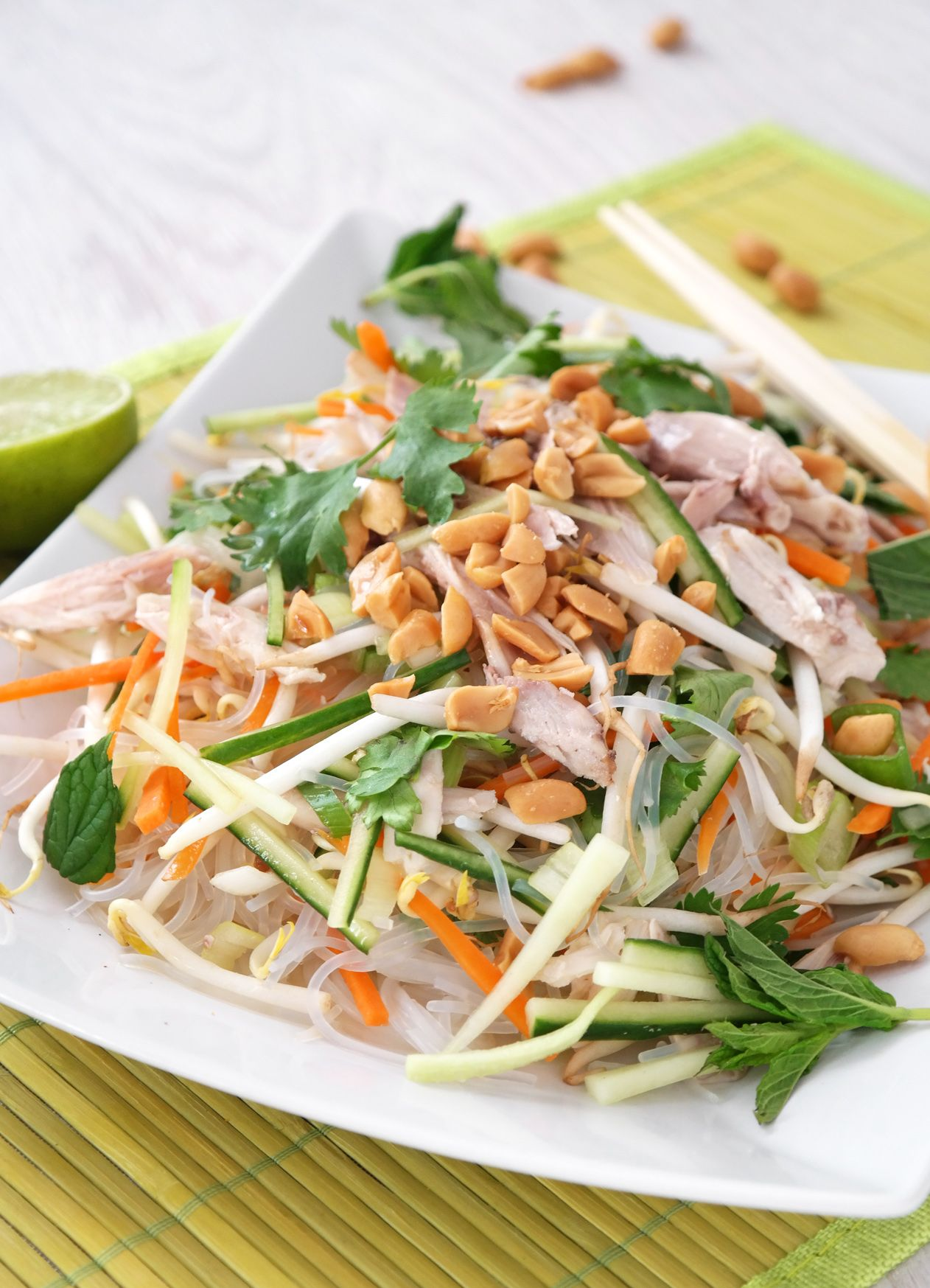 Photo of Asian glass noodle salad – so after feeling