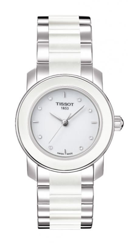 d15e56988a6 Tissot Cera Ladies Diamond Set Ceramic Watch. - Geeves Jewellers -  suppliers of watches and jewellery, London