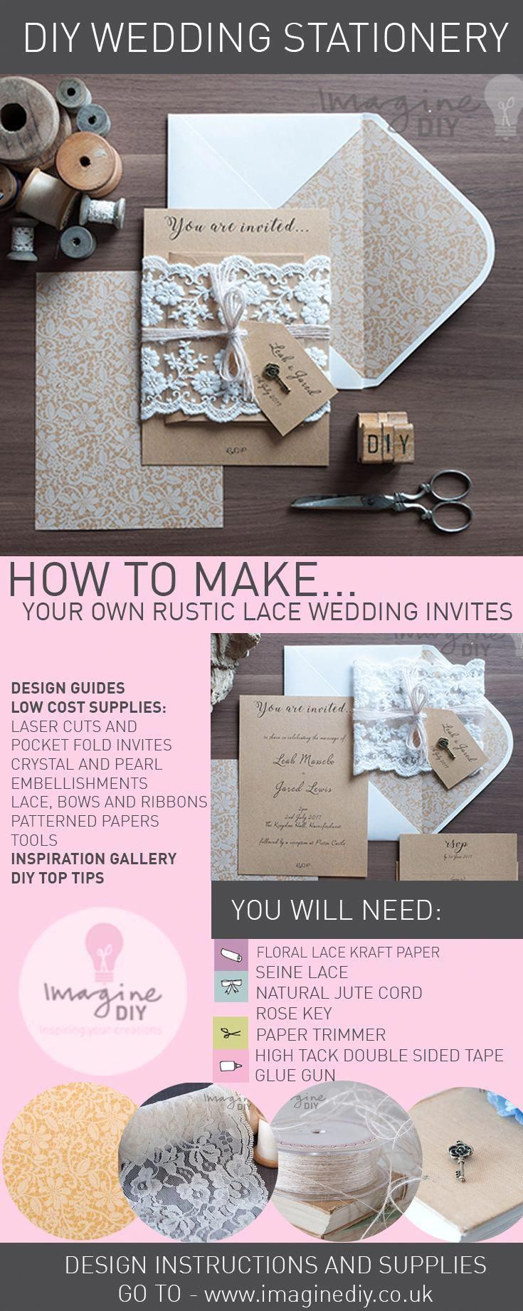 How to Make Your Own DIY Wedding Stationery in Dream