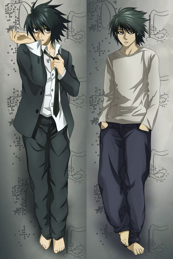 L Biggest Mistake In Death Note Korper Kissen Anime Chibi