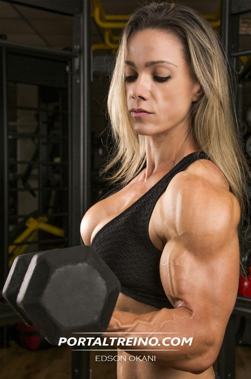 Marjorie Beck huge female muscle