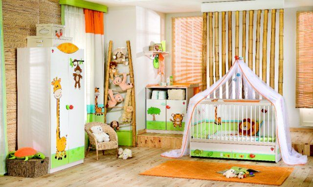Although when decorating one home, the advantage is given to the other rooms, but equally important is the space where the youngest will spend the day, so