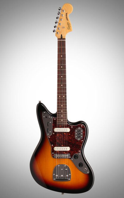 Squier Vintage Modified Jaguar Electric Guitar With Rosewood Fingerboard 3 Color Sunburst Guitar Squier Fender Jaguar