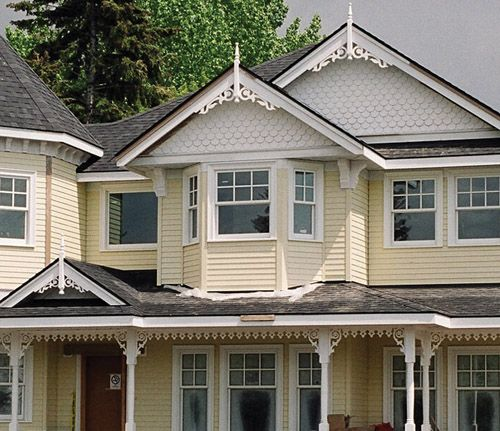 Love the detailing on the exterior of this victorian i for Victorian house trim
