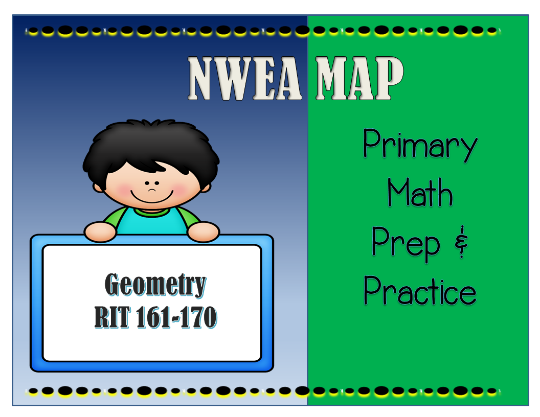 Nwea Map Primary Math Practice Geometry 161 170