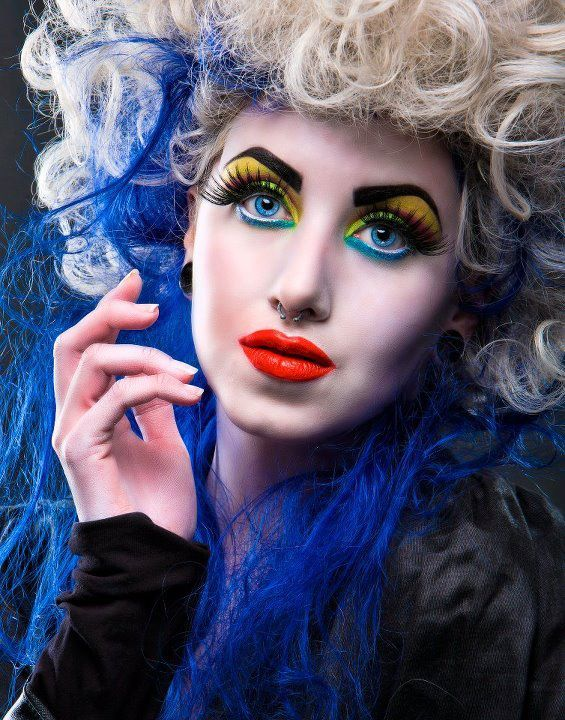Ruby's Production for Ruby Makeup Academy Photography by Fidel Gonzales Assitant: Joshua Mcintyre Makeup by