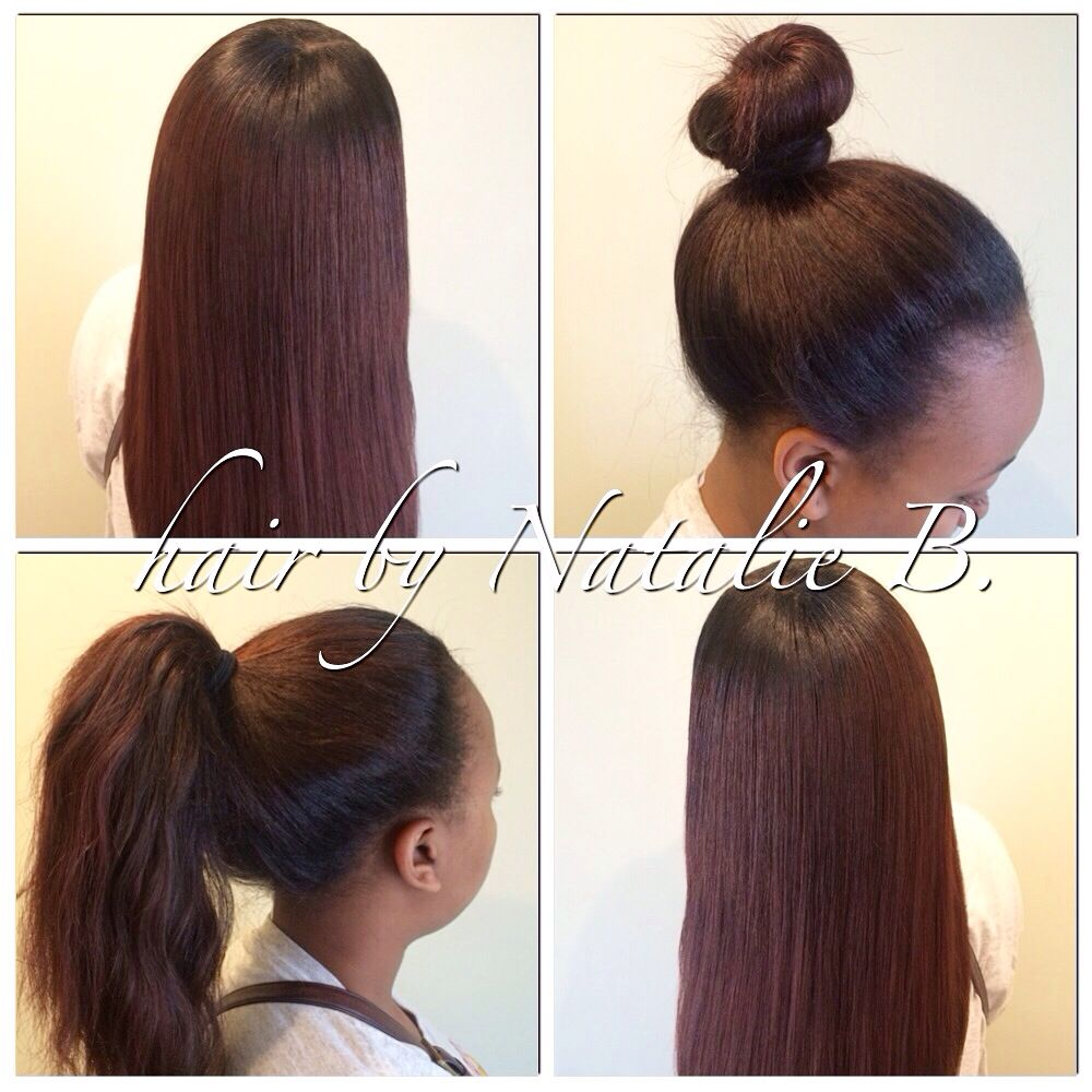 Perfect pony sewin hair weave by natalie b icartistry