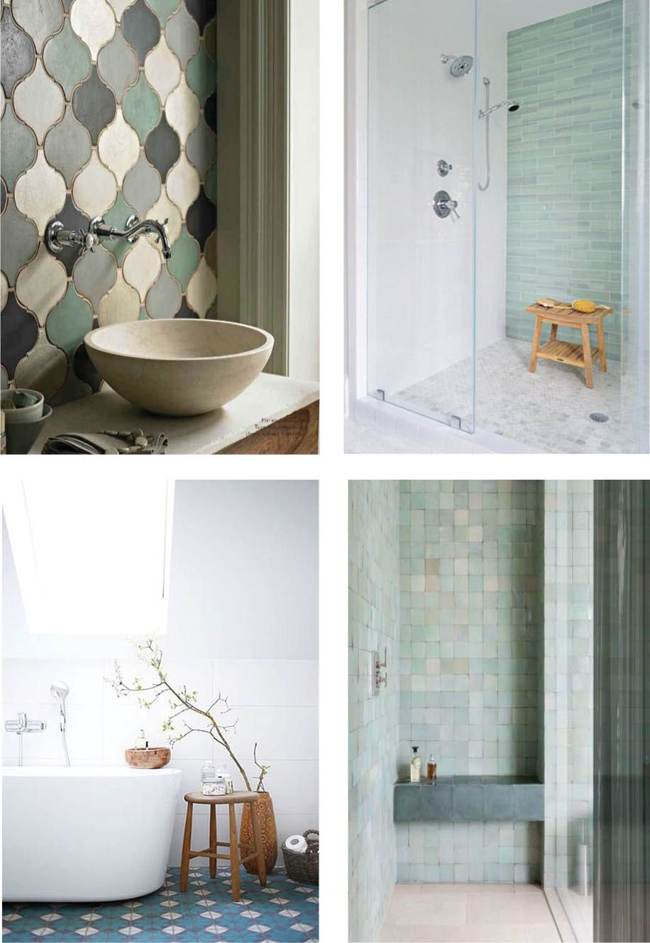 Adorn your bathroom floors or walls with the latest luxe tiles from ...