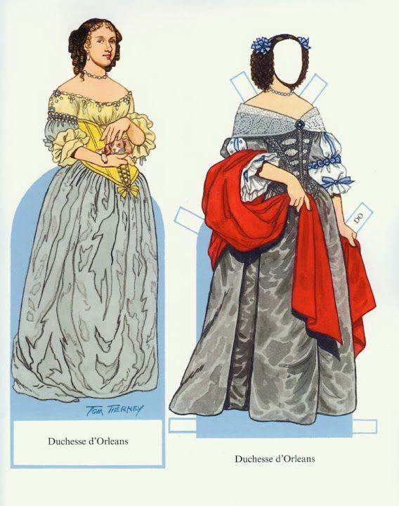 Louis XIV and his Court (Tom Tierney) - Nena bonecas de papel - Picasa Webalbum