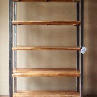 Photo of Libreria legno ferro stile industriale offerta on line prezzi outlet