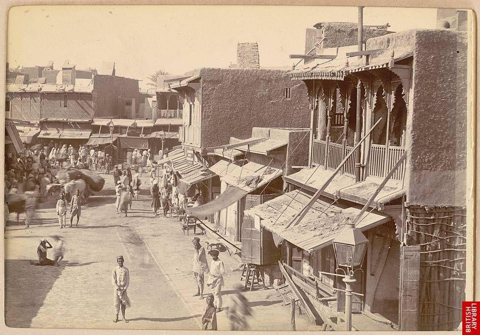 Old Karachi city street view  1900 | Old Karachi Pictures